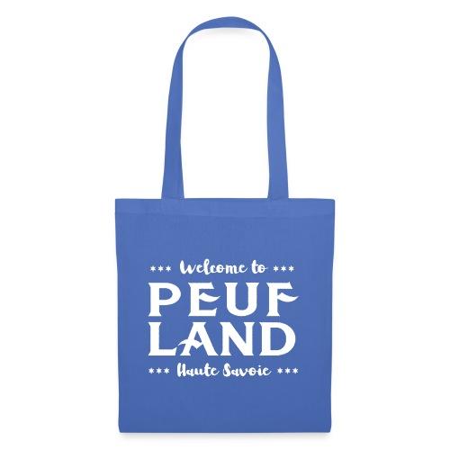 Peuf Land 74 - white - Tote Bag