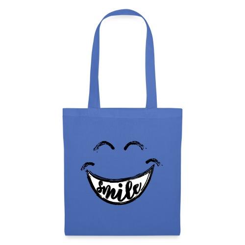 Smile - Stoffbeutel
