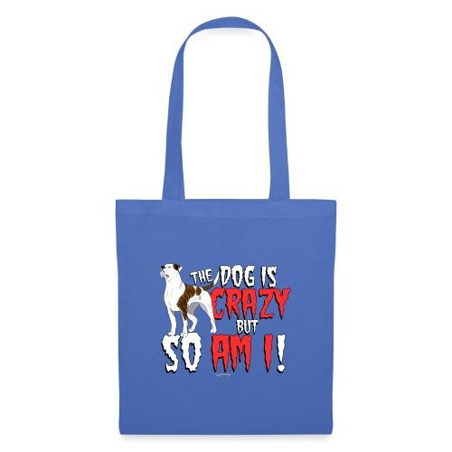 American Bulldog Crazy - Tote Bag