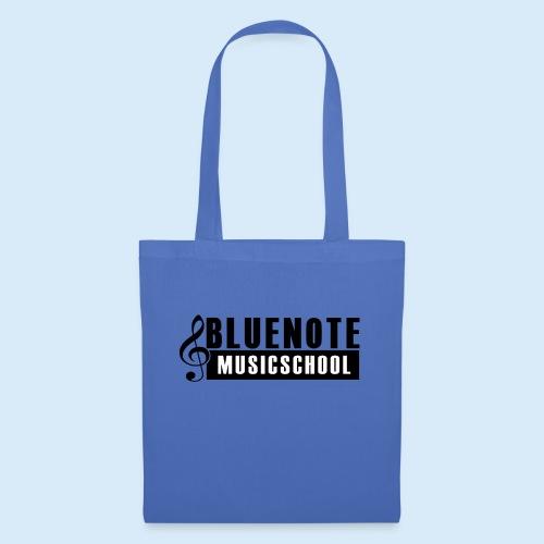 Bluenote Musicschool Logo Schwarz/Weiss - Stoffbeutel