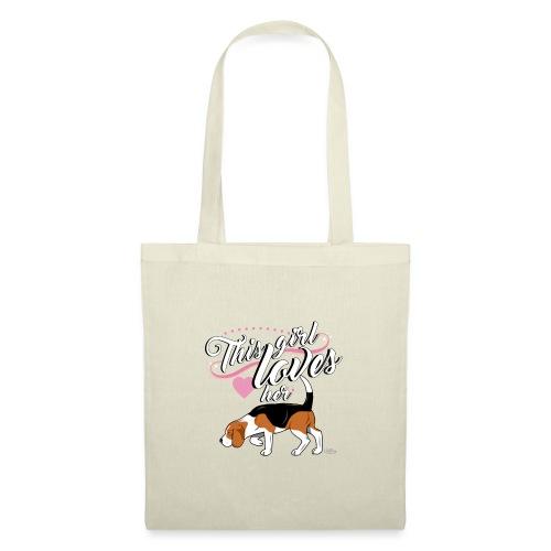 beaglegirl - Tote Bag