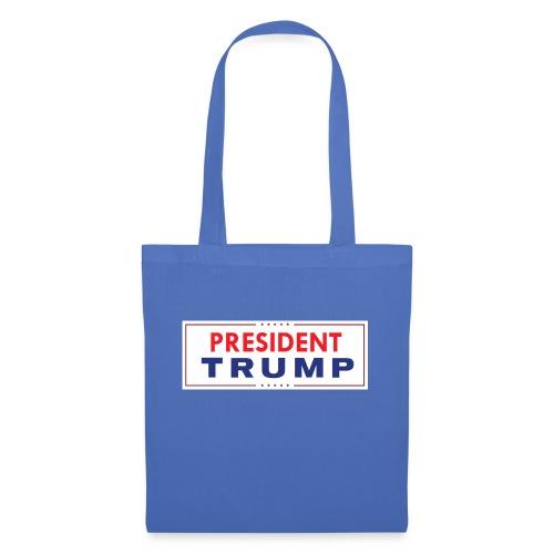 President Trump (White) - Tote Bag