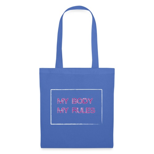 Mi cuerpo mis reglas - Bolsa de tela