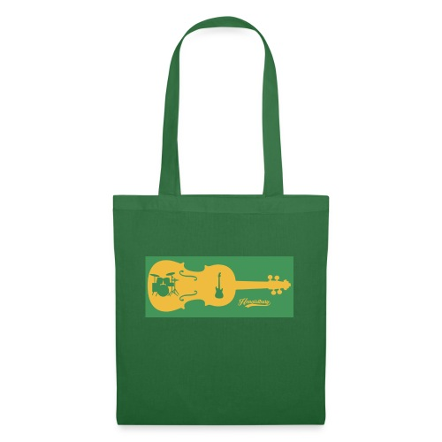 Tired of Playing Fiddle Yellow and Green - Tote Bag
