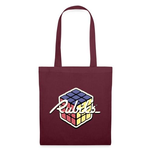 Rubik's Cube Retro Style - Tote Bag
