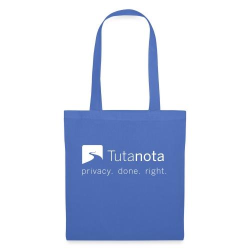 Tutanota - Privacy. Done. Right. - Stoffbeutel