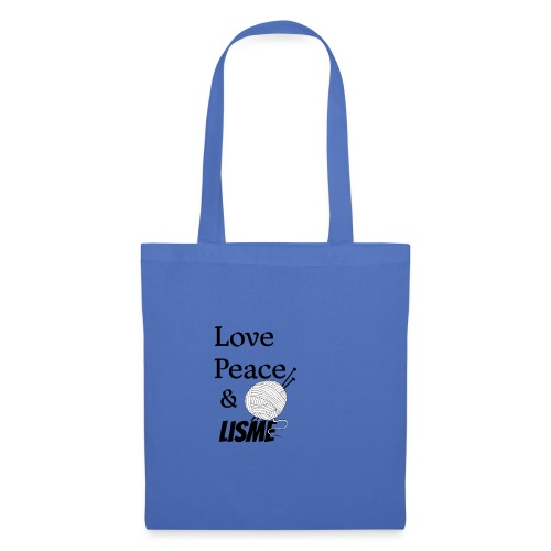 Love Peace & Lisme - Stoffbeutel