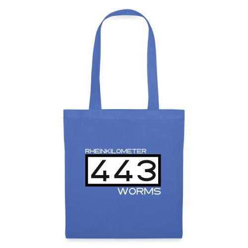 RK-443-Worms-weiss - Stoffbeutel
