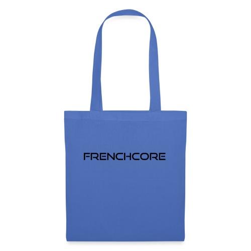 frenchcore black 1 - Tote Bag