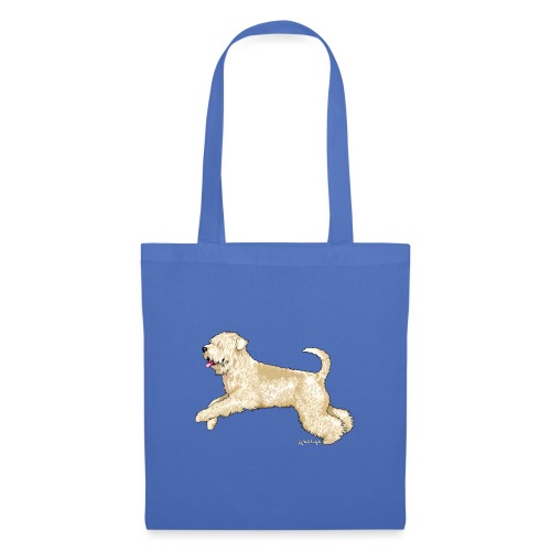 Soft Coated wheaten Terrier - Tote Bag