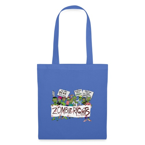 Zombie Rights Demo - Tote Bag