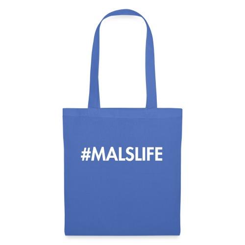 #MALSLIFE vrouwen - zwart - Tas van stof
