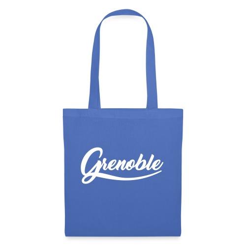 grenoble, old school - Sac en tissu