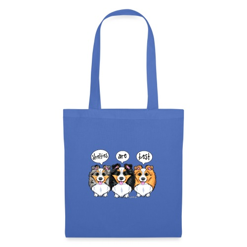 Shelties Are Best - Tote Bag