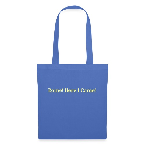 Tshirt_Rome_here_I_come - Tas van stof