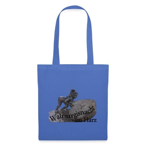 walpurgisnacht harz hexe 1 - Stoffbeutel