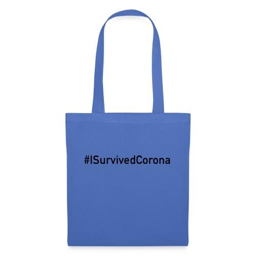 #ISurvivedCorona - Stoffbeutel
