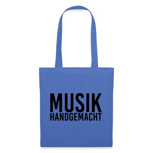 Musik handgemacht - Stoffbeutel