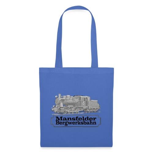 mansfelder bergwerksbahn dampflok 2 - Stoffbeutel