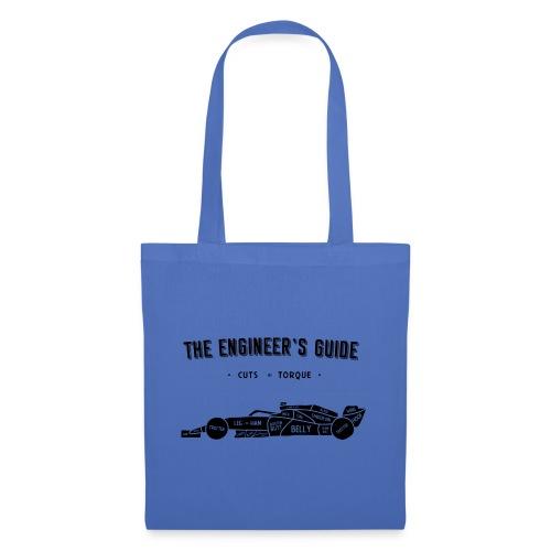 Racing car Cuts of Meat (Black Print) - Tote Bag
