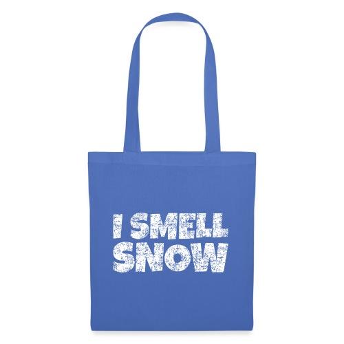 I Smell Snow Schnee, Weihnachten & Wintersport - Stoffbeutel