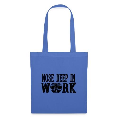 Nose Deep in Work 2 - Kangaskassi