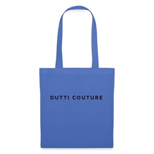 dutti couture schrift - Stoffbeutel