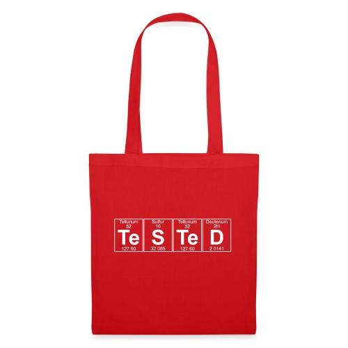 Te-S-Te-D (tested) (small) - Tote Bag