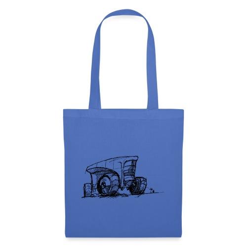 Futuristic design tractor - Tote Bag
