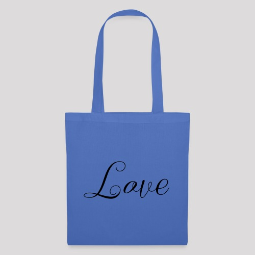 Love - Schiftzug - Stoffbeutel