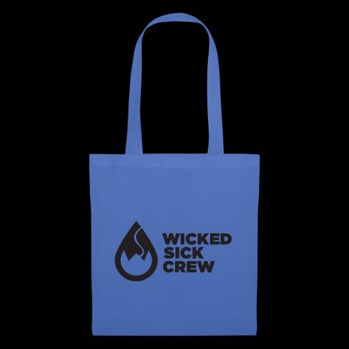 Wicked Sick Crew Tropfen schwarz - Stoffbeutel