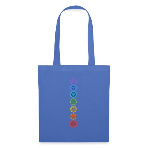 The 7 Chakras, Energy Centres Of The Body - Tote Bag