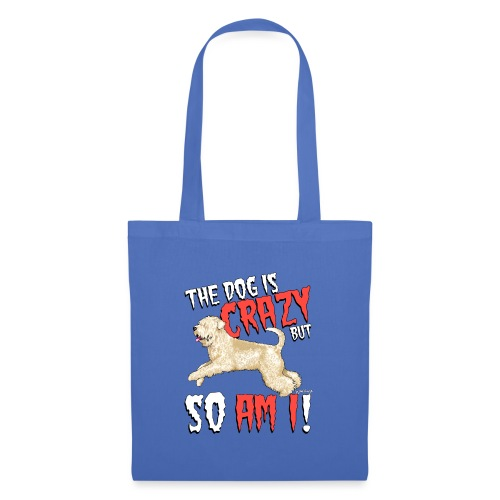 Wheaten Terrier Crazy 2 - Tote Bag