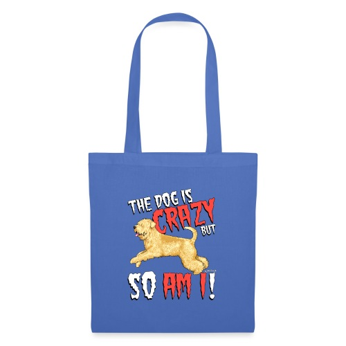 Wheaten Terrier Crazy - Tote Bag