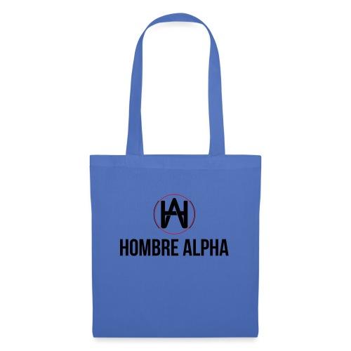 Hombre Alpha Logo - Bolsa de tela