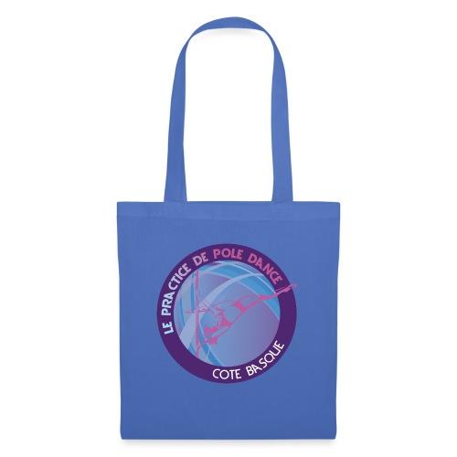 Logo poledance violet - Sac en tissu