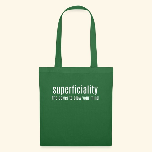 superficial 1 laag - Tote Bag