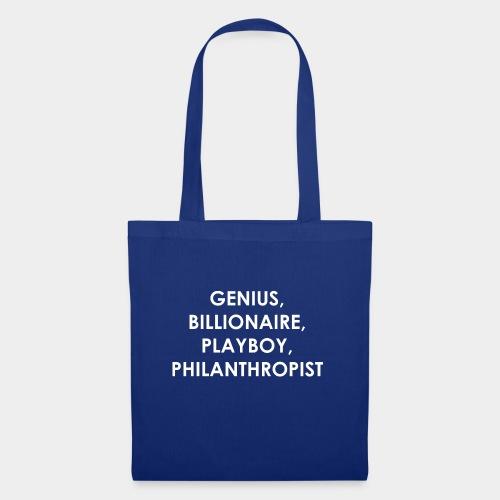 Genius Billionaire White - Tote Bag