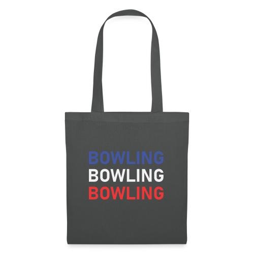 Bowling Bleu Blanc Rouge - Sac en tissu