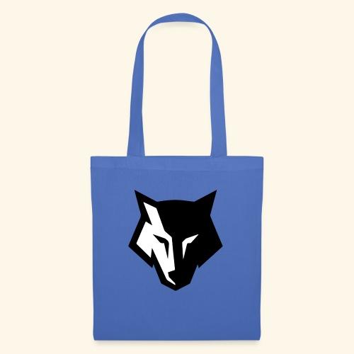 Loup noir et blanc - Tote Bag