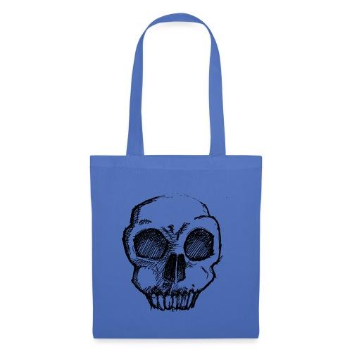 Skull sketch - Tote Bag