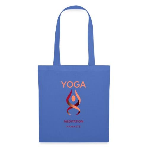 Yoga Meditation Namaste - Stoffbeutel