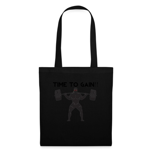 TIME TO GAIN! by @onlybodygains - Tote Bag