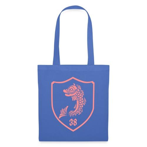 grenoble, dauphin blason 38 - Tote Bag
