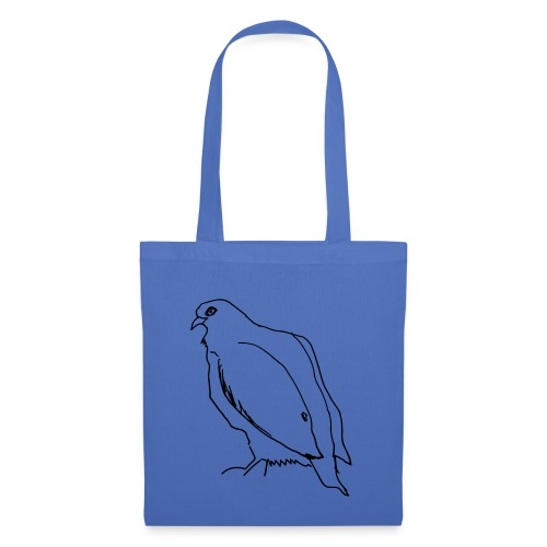 dove eats the last chestnut - Tote Bag