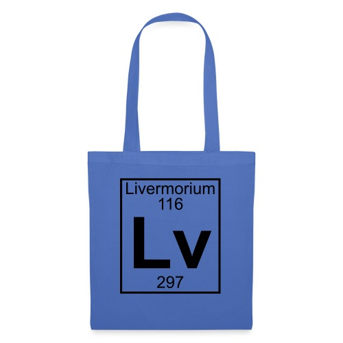 Livermorium (Lv) (element 116) - Tote Bag