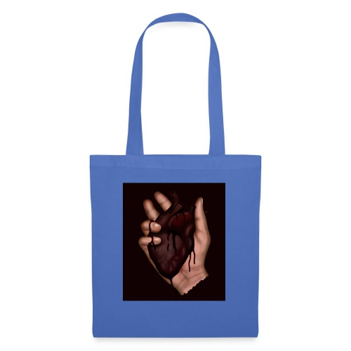 blood heart - Tote Bag