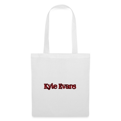 KYLE EVANS TEXT T-SHIRT - Tote Bag