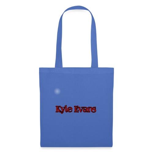 KYLE EVANS TEXT T-SHIRT - Tote Bag
