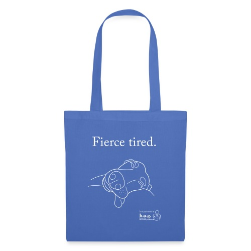 Fierce Tired Greyhound - Tote Bag